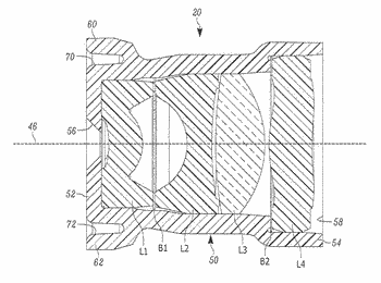 Arrangement for and method of protecting an imaging lens assembly from degradation in optical performance
