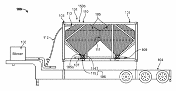 Bulk container transport system