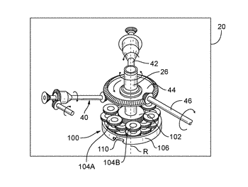 Planetary gear sets for power transmissions