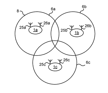 Determining position of a wireless device using remote radio head devices with multiple antenna devices