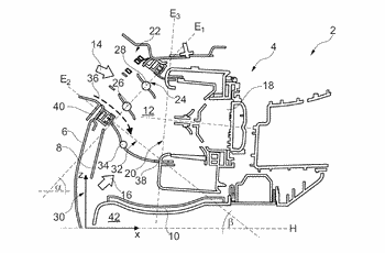Suction device of a vehicle air-conditioning system