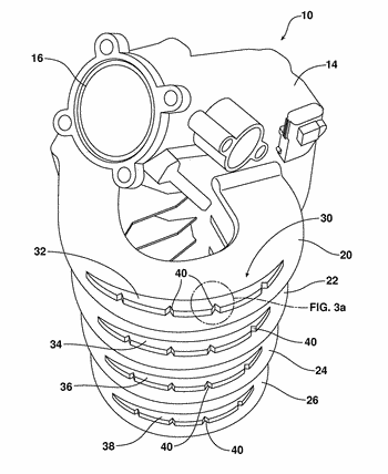 Intake manifold with impact stress concentrator