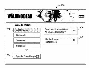 Systems and methods for collecting episodes of media content series