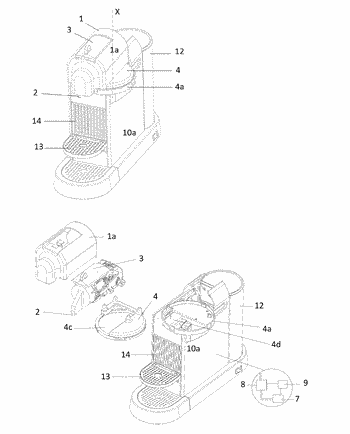 Beverage preparation device for hot and cold beverages
