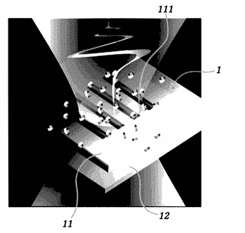 Method for sensitively and selectively sensing sugars using terahertz electromagnetic waves and device used therefor