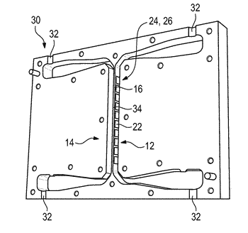 Combiner, a power directional coupler and a method for manufacturing a power directional coupler and ...