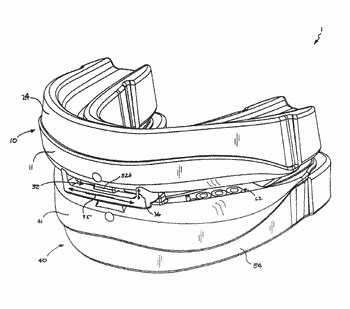Oral appliance for treatment of snoring and sleep apnea