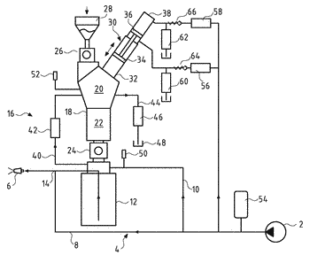 Water-abrasive-suspension cutting system