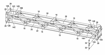 Collapsible truss