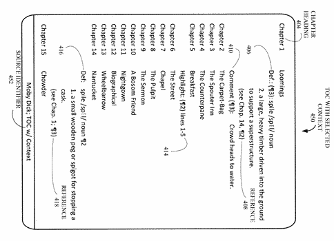 Annotation data generation and overlay for enhancing readability on electronic book image stream service