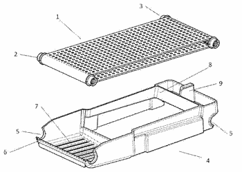 Sweeper and filter assembly for beverage preparation machines