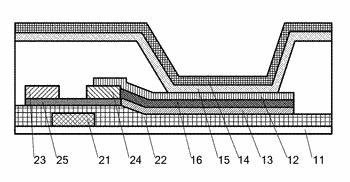 Organic light-emitting diode display element, its manufacturing method and display device