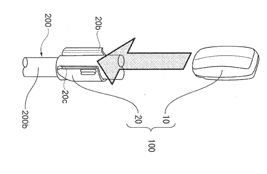 Motion detecting device and motion analyzing system