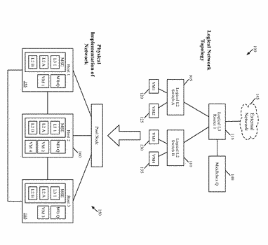 Network control system for configuring middleboxes