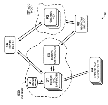 Delegation of content delivery to a local service