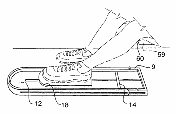 Knee flexion and extension therapy device and method of use