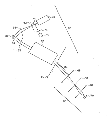 Spatially distributed laser resonator