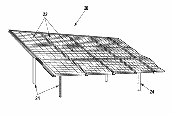 System for mounting solar panels