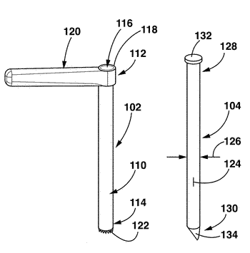 Surgical tools having application for spinal surgical procedures and method of use