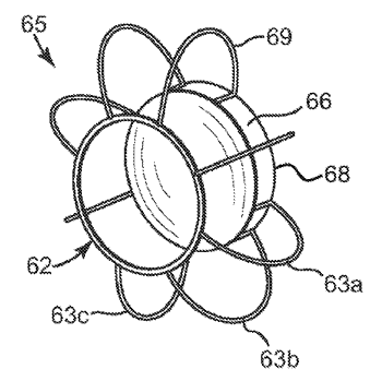 Haptic for accommodating intraocular lens