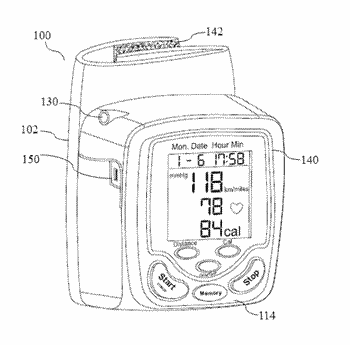 Fitness monitoring device