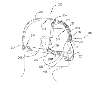 Inextensible headgear and cpap or ventilator mask assembly with same