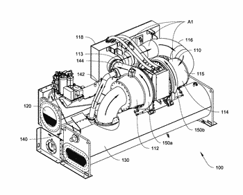 Refrigerant cooling and lubrication system with refrigerant source access from an evaporator