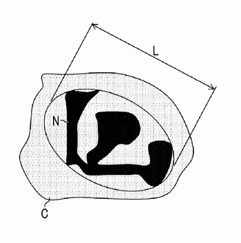 Method for sorting nucleated red blood cell
