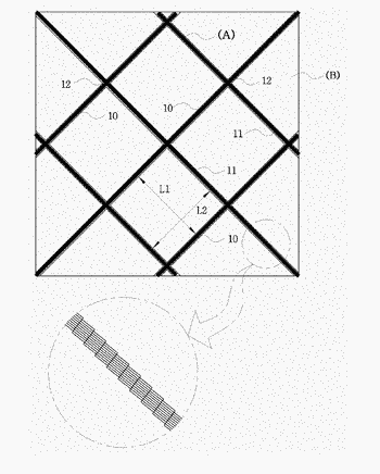 Electrode structure for touch panel and method of fabricating the same