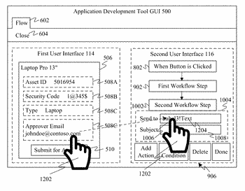 Parallel front end application and workflow development