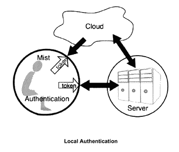Local user authentication with neuro and neuro-mechanical fingerprints