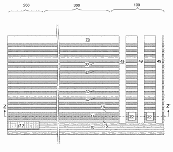 Three dimensional nand device containing dielectric pillars for a buried source line and method of ...