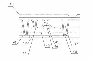 Manufacturing method of anode of flexible oled display panel and manufacturing method of display panel