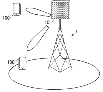 Base station, user equipment, and radio communication network