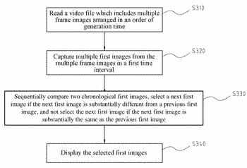 Pre-selectable video file playback system and method, and computer program product