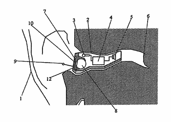 Hearing aid with antenna for reception and transmission of electromagnetic signals