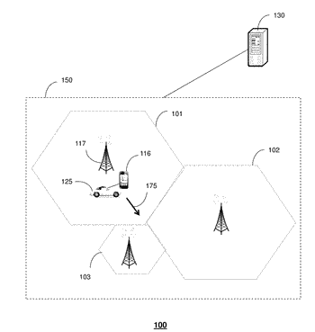 Method and apparatus for managing handovers in a wireless network based on speed group assignments