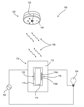 Wireless sensor having a laser-responsive element