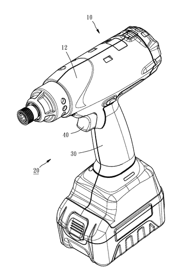 Trigger mechanism for power tool