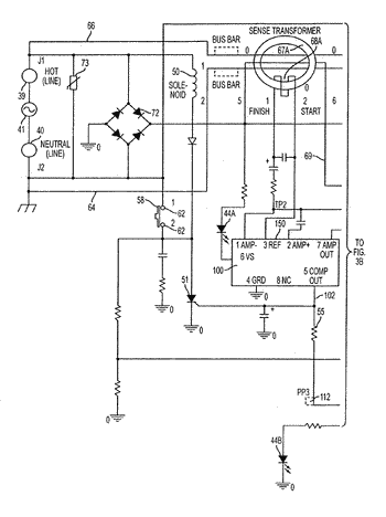 Self-testing auto monitor ground fault circuit interrupter (gfci) with power denial