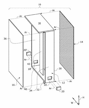 Methods and apparatus for passive reduction of nosocomial infections in clinical settings, and fabrics, yarns, ...
