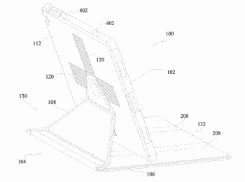 Covering, protecting, and positioning a portable electronic device