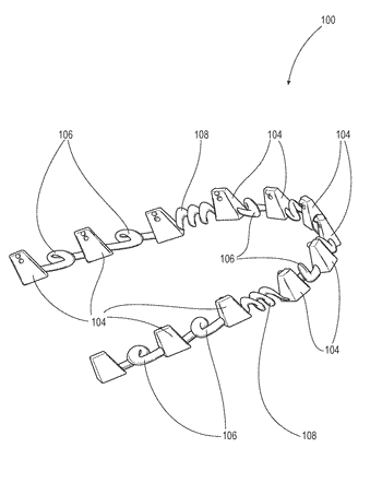 Teeth repositioning systems and methods