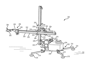 High pressure waterblasting nozzle manipulator apparatus