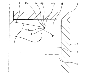 Combustion chamber structure for diesel engine