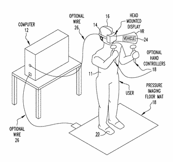 Foot operated navigation and interaction for virtual reality experiences