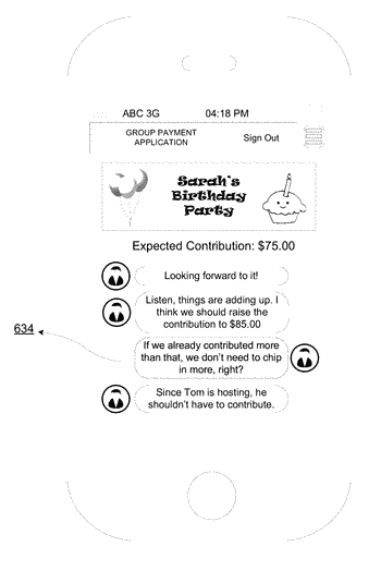 Graphical user interfaces for facilitating end-to-end transactions on computing devices