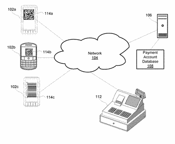 Facilitating mobile device payments using product code scanning