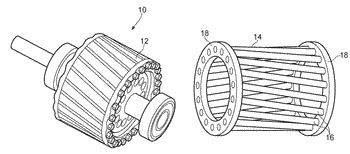 Induction motor rotor and a method of manufacturing the same