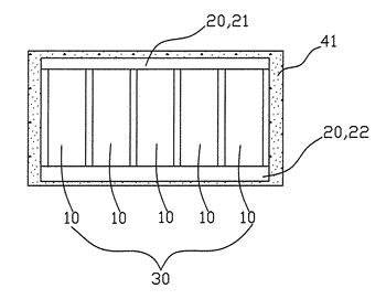 Thermal management and automatic fire-extinguishing system of vehicle battery